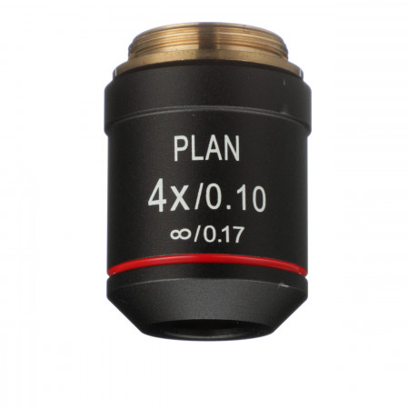 4x Infinity Plan Achromat Objective