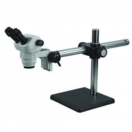 3078 Binocular Zoom Stereo Microscope on Boom Stand
