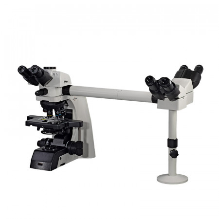 500-3SBS Three Observer Accessory shown on EXC-500 with optional Viewing Heads and Eyepieces