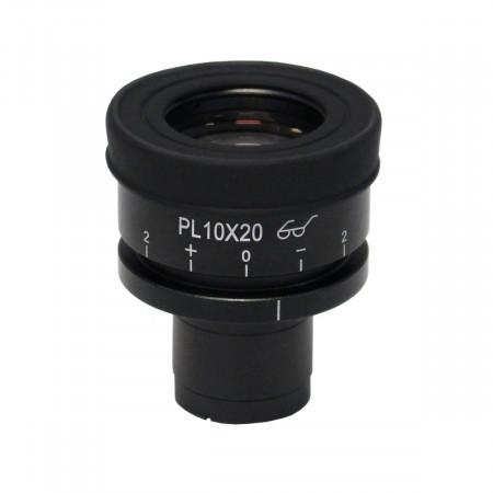 HWF Plan 10x/20mm Focusing Eyepiece