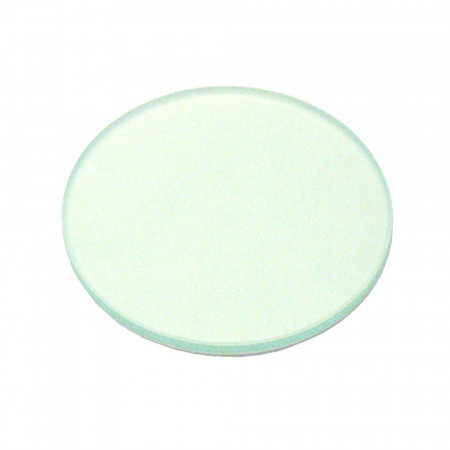 100mm Clear Glass Stage Plate, Thick