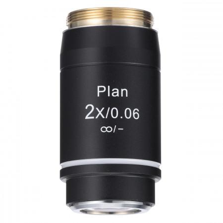 2x NIS Plan Achromat Objective