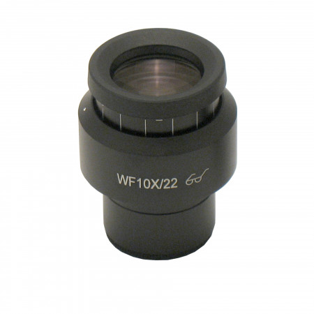 WF10x/22 Focusing Eyepiece with 10mm/100 Division Reticle with Cross-Line
