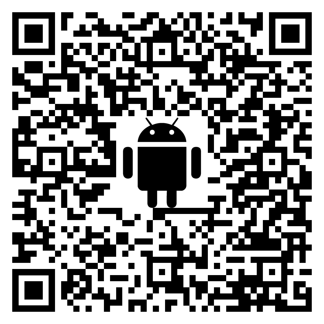 QR code for SKYE View 2 app on Google Play